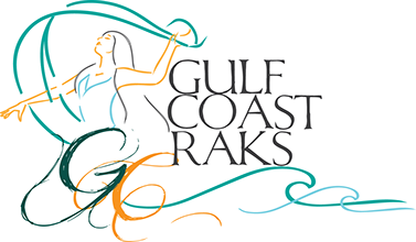 Gulf Coast Raks Festival logo
