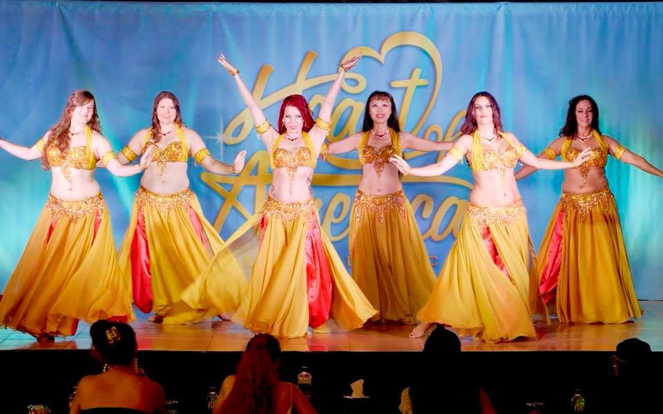 Elysium Belly Dance 3rd Place Troupe