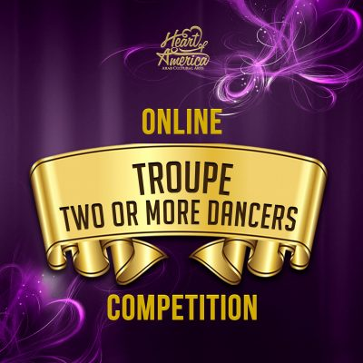 Troupe category, 2 or more dancers